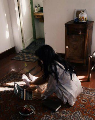 Các bạn chữ chụp hình tại Second house Đà Lạt