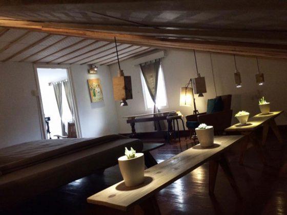 Không gian trang trí vintage tại Second house homestay đà lạt